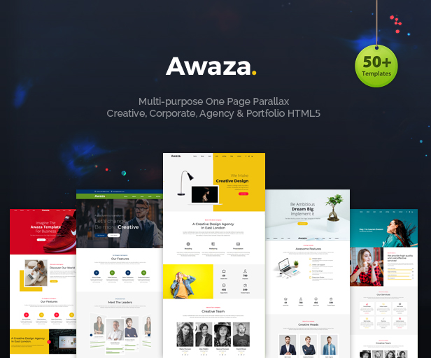 Awaza - One Page Multipurpose - 2