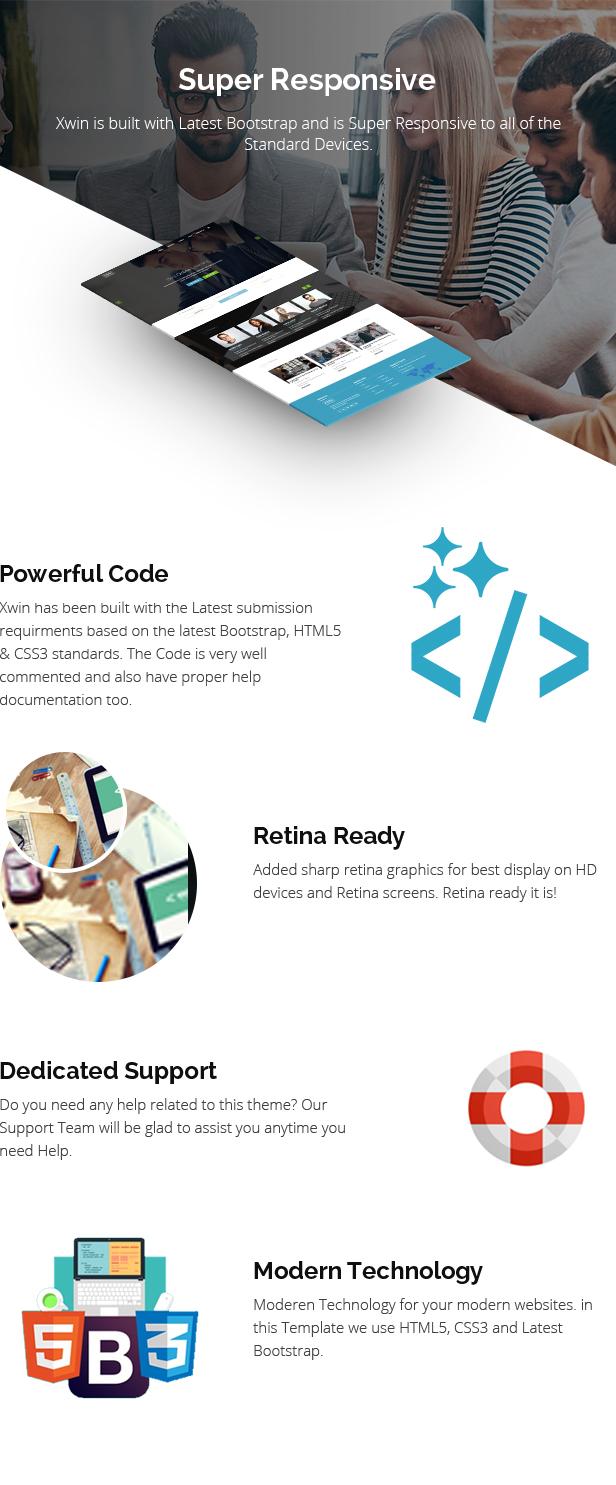 Xwin - Corporate Business HTML5 - 4